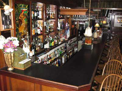Photo of the bar at Vorelli's Restaurant